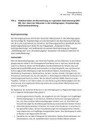 TOP 5: Modellvorhaben der Raumordnung zur regionalen ...
