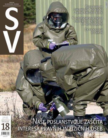 Letnik XIX/18 - Ministrstvo za obrambo