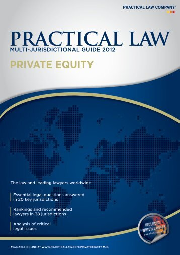 private equity - P+P Pöllath + Partners