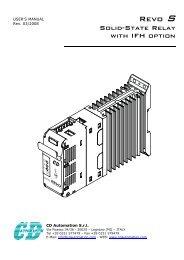 Revo S - CasCade Automation Systems BV
