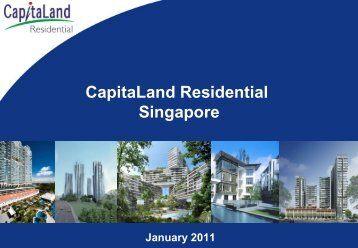 CL: Presentation slides on CapitaLand Residential Singapore