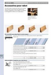 Accessoires pour rabot - Bosch
