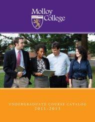 Undergraduate Course Catalog 2011-2013 - Molloy College