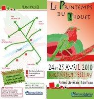 Téléchargez le dépliant - Montreuil-Bellay