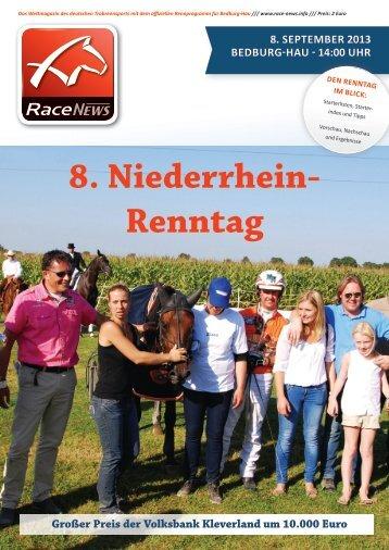 8. Niederrhein- Renntag - Rennverein Heisterfeldshof Bedburg-Hau ...