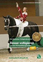 Broschüre Deutsches Voltigierabzeichen