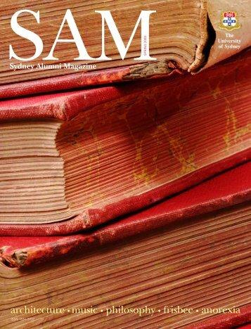 Sydney Alumni Magazine - The University of Sydney