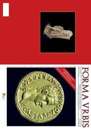 Articolo su Forma Urbis Dicembre 2012 - Cultura Lazio