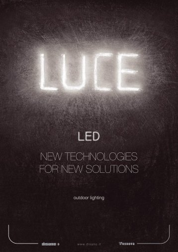 NEW TECHNOLOGIES FOR NEW SOLUTIONS