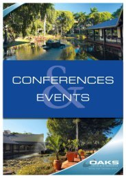 Oaks Oasis Conferencing Kitx - Oaks Hotels & Resorts