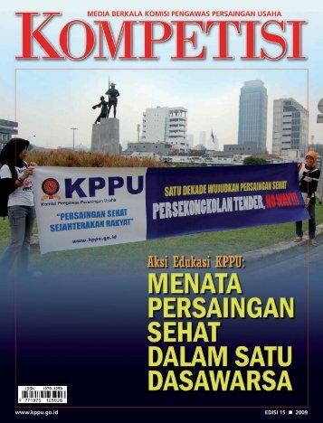 Edisi 15 Tahun 2009 - KPPU