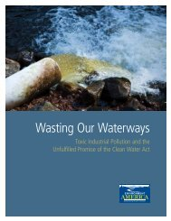 Wasting Our Waterways - Environment America