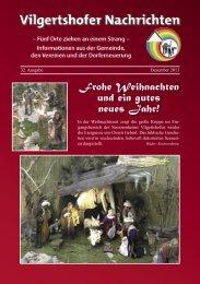Ausgabe Dezember 2013 - Gemeinde Vilgertshofen