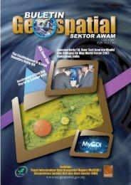 Buletin Geospatial Sektor Awam - Bil 1/ 2007 - Malaysia Geoportal