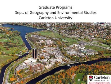 Faculty Research Interests - Carleton University