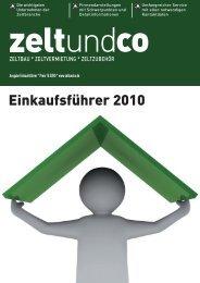 per Fax an: + 49 (0) - zelt und co