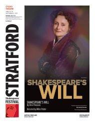 ShakeSpeare'S will - Stratford Festival
