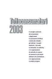 Tutto consumatori 2003 - CNCU