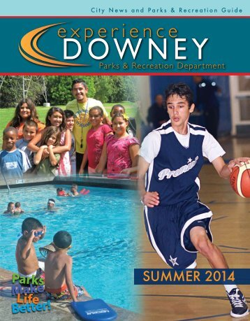 Parks & Recreation Guide FALL 2013 (pdf) - City of Downey