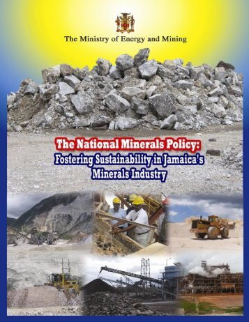 National Minerals policy - Ministry of Energy