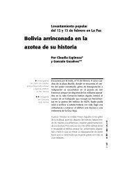 Bolivia arrinconada en la azotea de su historia - Hecho Histórico