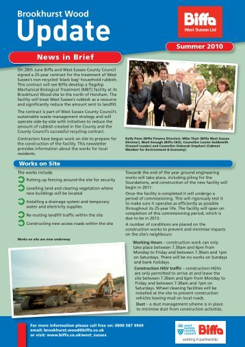 Summer 2010 newsletter - Biffa