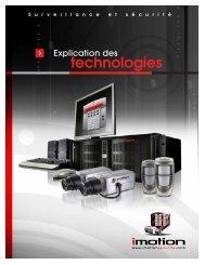 Explication des technologies - surveillance et ... - iMotion Sécurité