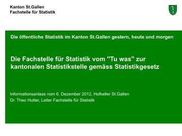 zur kantonalen Statistikstelle gemäss Statistikgesetz (307 kB, PDF)