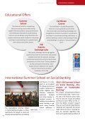 ISB Annual Report 2012 - Institute for Social Banking - Page 6