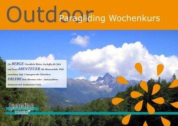 Paragliding Wochenkurs