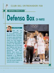 Defensa box - Club del Entrenador