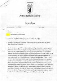 Urteil des Amtsgericht Mitte