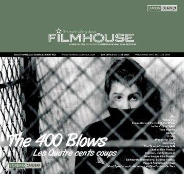 Italian Film Festival - Filmhouse Cinema Edinburgh