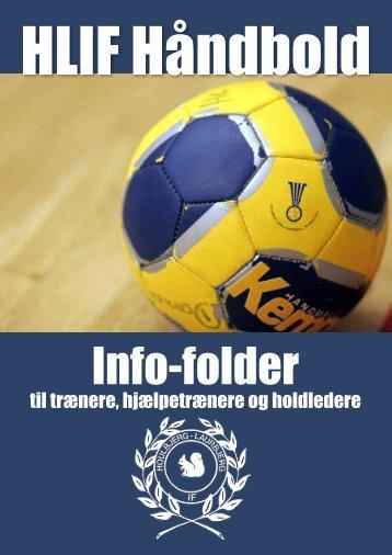 Trænermappe håndbold - Houlbjerg-Laurbjerg Idrætsforening