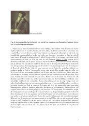 1 Johannes Calvijn Dat de kennis van God en de ... - dewoesteweg.nl