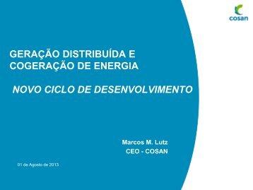 Energia e Infraestrutura - Cogen