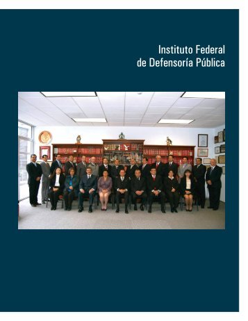 Instituto Federal de Defensoría Pública - Suprema Corte de Justicia ...