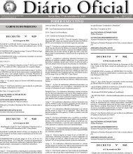 poder executivo - Prefeitura Municipal de Rio Claro - Governo do ...