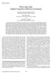 researchers - Michael Frank