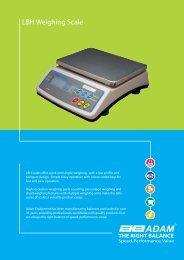 LBH Weighing Scale - Adam Equipment