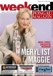 Frau Streep - Aktuelle Ausgabe