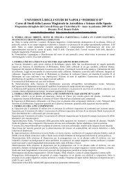 Fisica per l'Astrofisica 2 - Dipartimento di Fisica - Università degli ...
