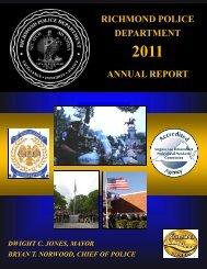 RPD 2011 Annual Report.pub - City of Richmond