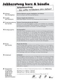 Arbeitsvertrag - studiberatung-potsdam.de - Info
