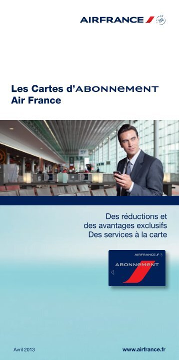 les cartes d 39 abonnement air france afklm. Black Bedroom Furniture Sets. Home Design Ideas