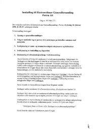 Innkalling til Ekstraordinær Generalforsamling