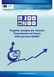 Progetto europeo per favorire l'inserimento nel lavoro delle persone ...