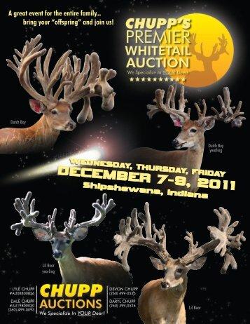 DECEMBER 7-9, 2011 - Whitetail Deer Farmer