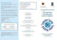 Il Cooperative Learning nella società complessa - Ufficio Scolastico ...