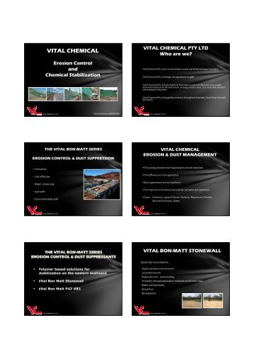 VITAL CHEMICAL - GEMS Event Management